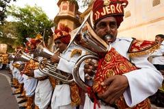 festivalgangaur jaipur Arkivfoto