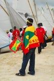 festivalgrenada segling Arkivfoto