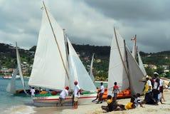 festivalgrenada segling Royaltyfri Fotografi