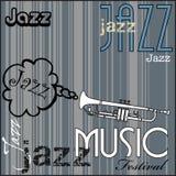 festivaljazzmusik vektor illustrationer