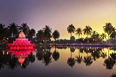 festivalkratong loy thailand Royaltyfri Fotografi