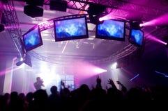 festivalmusik Royaltyfri Fotografi