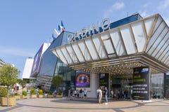 Festivals de DES de casino et de Palais à Cannes, France photo libre de droits