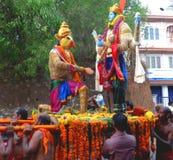 Festivals de temple du Kerala Photo stock