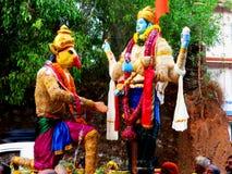 Festivals de temple du Kerala Photos stock