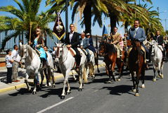 Festivals - The El Rocio Pilgrimage Stock Photos