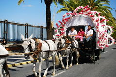 Festivals - The El Rocio Pilgrimage Royalty Free Stock Image