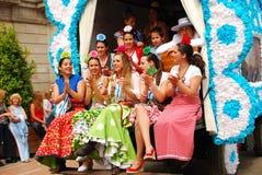 Festivals - The El Rocio Pilgrimage Stock Image