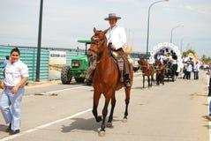 Festivals - The El Rocio Pilgrimage Stock Photo