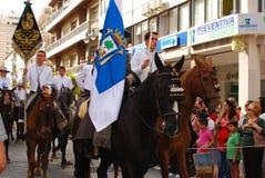 Festivals - The El Rocio Pilgrimage Royalty Free Stock Photos