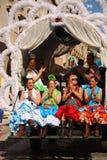 Festivals - le pélerinage d'EL Rocio Images libres de droits