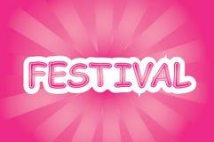 Festivalvector royalty-vrije stock foto's