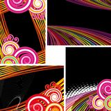 Festive abstract background Stock Images