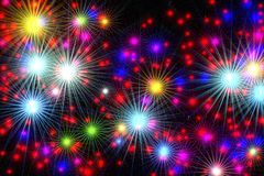 Festive abstract background Royalty Free Stock Images