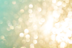 Festive abstract background with bokeh lights. Royalty Free Stock Photos