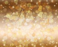 Festive abstract background with empty space for the text. Festive abstract background with bokeh, snowflake and sparkle. Empty space for the text Royalty Free Stock Image