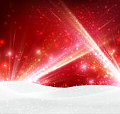 Festive abstract background. Festive abstract red background Vector Illustration Royalty Free Stock Image