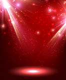 Festive abstract background. Festive abstract red background Vector Illustration Royalty Free Stock Photography