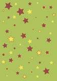 Festive abstract background for wrapping paper. With stars Stock Photo