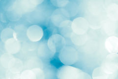 Festive abstract blurred white and blue background Stock Images