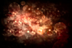 Festive Abstract Christmas Background. Glowing Holiday Bokeh stock image