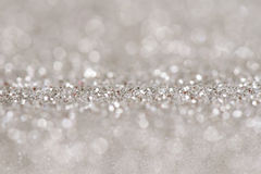 Festive abstract glitter bokeh background Royalty Free Stock Photography