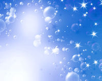 Festive air bubbles Stock Photography