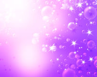 Festive air bubbles Royalty Free Stock Images