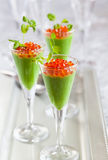 Festive appetizer Royalty Free Stock Image