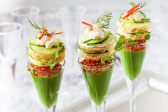Festive appetizers Stock Photo