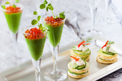 Festive appetizers Royalty Free Stock Photos