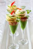 Festive appetizers Stock Photography