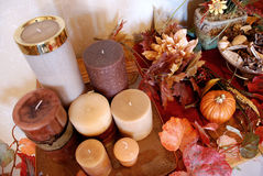 Festive Autumn Decor Stock Image
