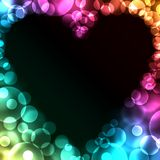 Festive background. Fistive background for St. Valentine's day Stock Images