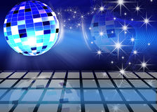 Festive background. Festive dance background with brilliant ball Royalty Free Stock Image