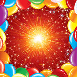 Festive Background. Happy Birthday Background -  illustration for your greeting text or design Royalty Free Stock Photos