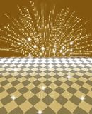 Festive background. Abstract golden festive card background Royalty Free Stock Photos