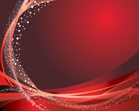 Festive background. Abstract vector festive background in red colors Stock Photography
