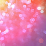 Festive background. Abstract background with bokeh defocused lights Stock Images