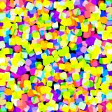 Festive background for the birthday celebration. Multi-colored sweets, bokeh. Romantic background Stock Image