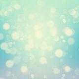 Festive background with bokeh. Stock Photography
