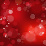 Festive background with bokeh defocused lights. Vector illustration Royalty Free Stock Images