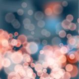 Festive background bokeh effect. Lights on festive background bokeh effect Royalty Free Stock Photography