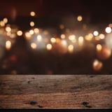 Festive background with bokeh effects royalty free stock photography