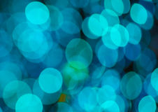Festive  background with bokeh lights, for design Stock Photo