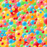 Festive background with brightly colored balloons. Celebration background with lots of festive balloons in green, red, yellow, pink, orange and blue Royalty Free Stock Photos