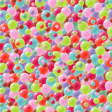 Festive background with brightly colored balloons. Celebration background with lots of festive balloons in green, red, purple, pink, orange and blue Royalty Free Stock Photo