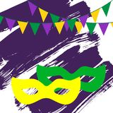 Festive background for carnival, festival royalty free illustration