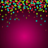 Festive2. Festive background with colorful confetti, eps 10 Royalty Free Stock Images