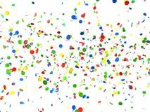 Festive background of confetti. Illustration Stock Photo
